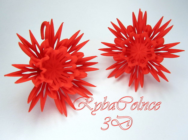 The Angel Plugs / gauges/ 8g (3.2 mm) in Red Processed Versatile Plastic