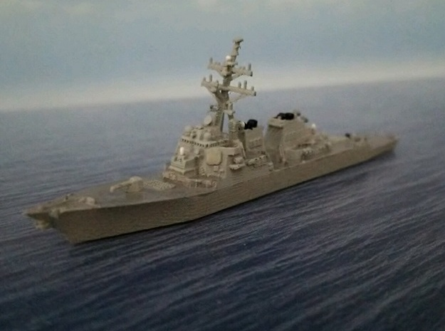 1/2000 USS John Paul Jones in Smooth Fine Detail Plastic