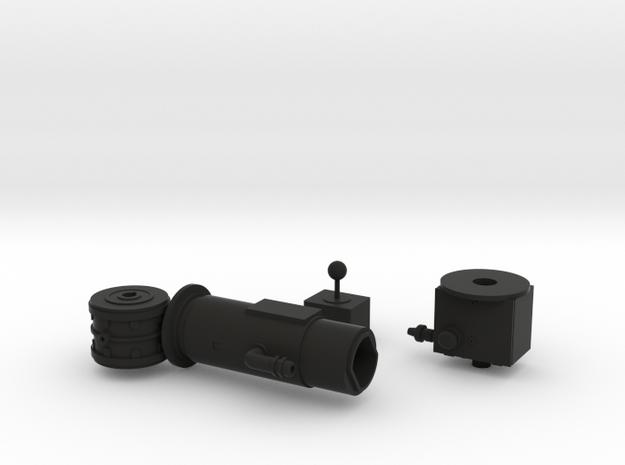 1:6 scale Hasbro HMMWV Turret motor in Black Natural Versatile Plastic
