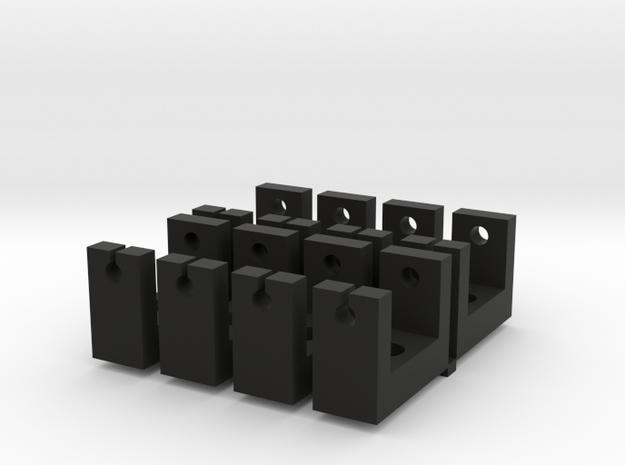 1:6 scale Hasbro HMMWV Tool bracket in Black Natural Versatile Plastic