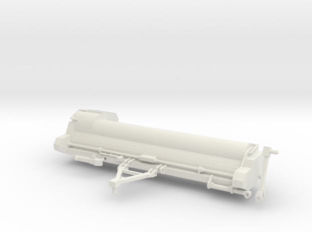1/64 20' Stalk Chopper in White Natural Versatile Plastic