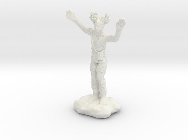 Wilden Warden Greenman Standing Pose in White Natural Versatile Plastic