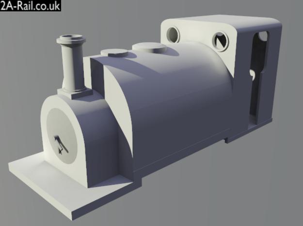 O-16.5 George England 0-4-0TT Body 3d printed Test render