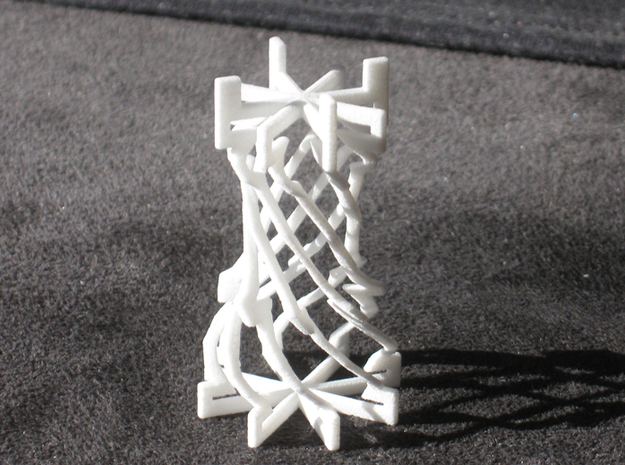 Twisted Chess 3d printed Rook