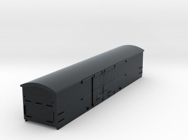 #87-1311 - Interurban Box Car CERA trailer in Black Hi-Def Acrylate