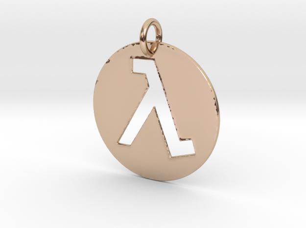 Half Life Pendant/Keychain