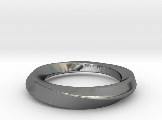 Mobius 21mm in Premium Silver