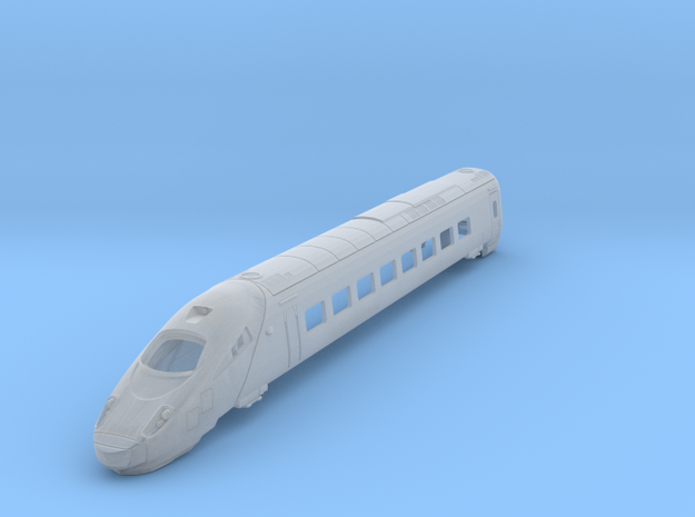 ETR610  Carriage 1 Bodyshell  N and TT in Frosted Ultra Detail: 1:160 - N