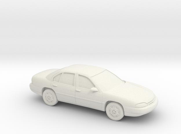 1/64 1994-2000 Chevrolet Lumina in White Natural Versatile Plastic