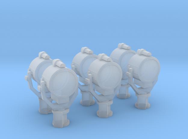 1/200 USN 24 inch Searchlight Set x6