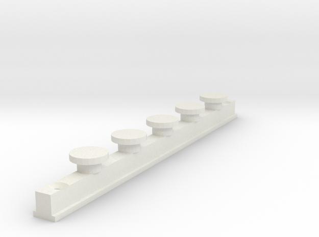 IKEA KVARTAL In Curtain Rail  V1 in White Strong & Flexible
