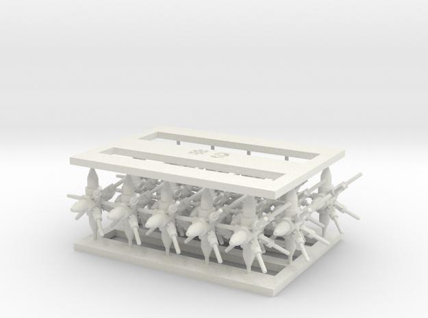 MOF Connector09 (20) in White Natural Versatile Plastic