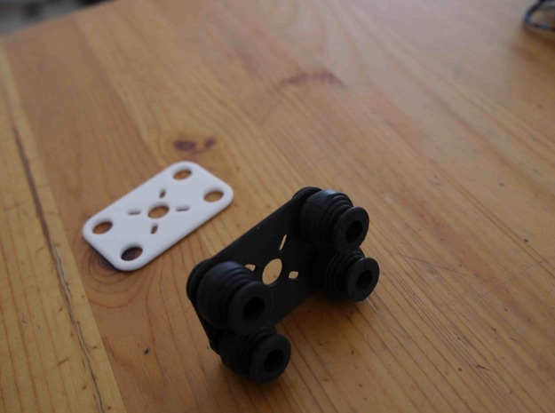 Rubbers Support 3d printed