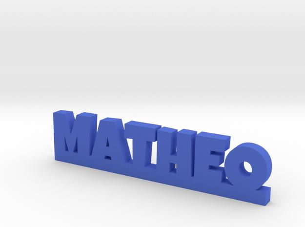 MATHEO Lucky in Blue Processed Versatile Plastic