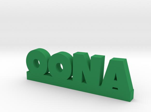 OONA Lucky in Green Processed Versatile Plastic