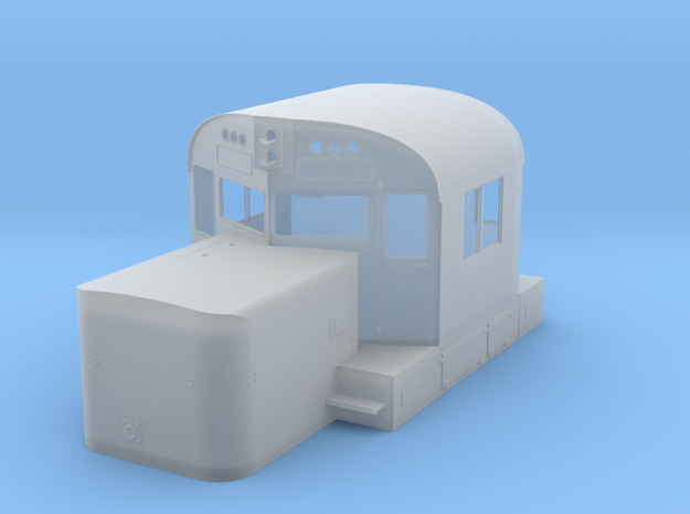 Alco C420 Cab & Short Hood without Nose Door in Smooth Fine Detail Plastic: 1:64 - S