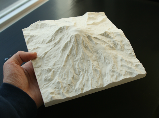 8'' Mt. Rainier, Washington, USA, Sandstone in Natural Sandstone