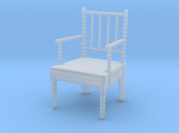 1:48 English Bobbin Chair (Custom Order) in Smoothest Fine Detail Plastic