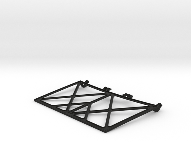 SR50015 SR5 Hood Frame in Black Strong & Flexible
