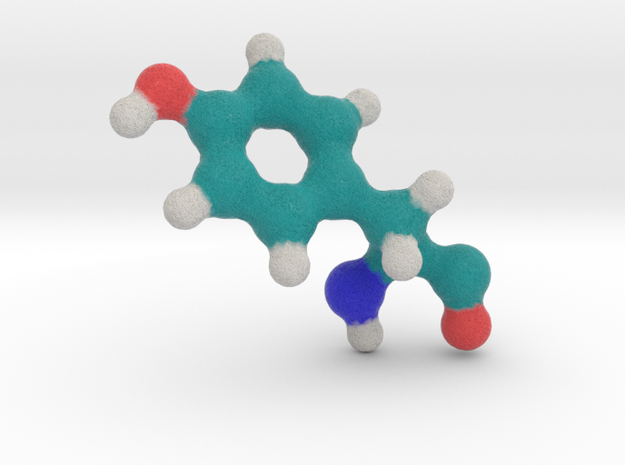Amino Acid: Tyrosine in Full Color Sandstone