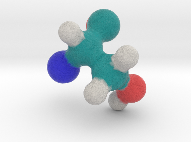 Amino Acid: Serine in Full Color Sandstone