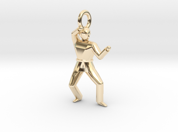 Pendant - P4 in 14k Gold Plated