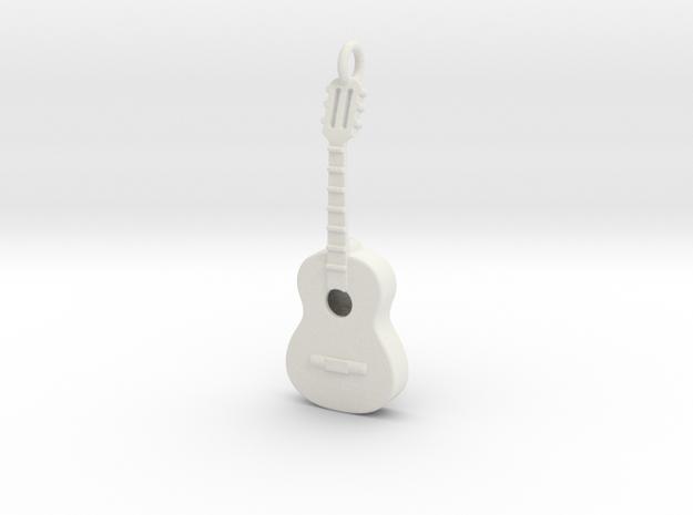 Guitar 1702102145 in White Natural Versatile Plastic