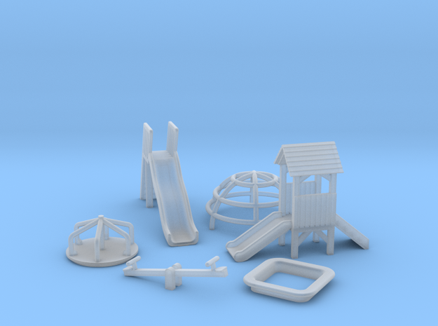 N Scale Playground Equipment
