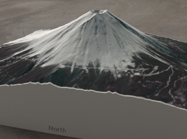 Mt. Fuji, Japan, 1:50000 Explorer in Full Color Sandstone