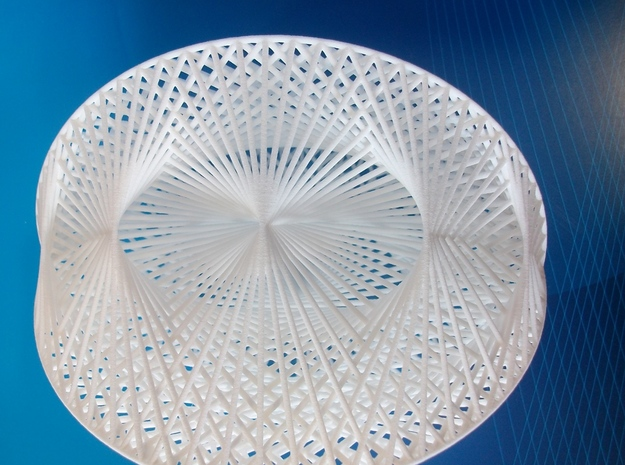 Spatial Cardioid Formalbs 2 in White Natural Versatile Plastic