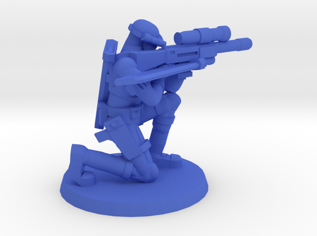 38mm SpecFor Sniper 3 in Blue Processed Versatile Plastic