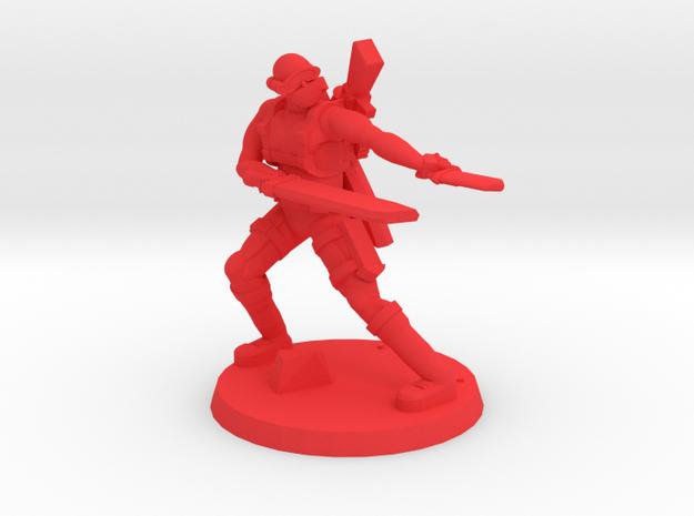 38mm SpecFor Sniper 8 in Red Processed Versatile Plastic