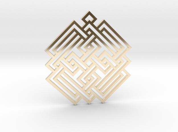 Celtic Knot / Nudo Celta in 14K Gold