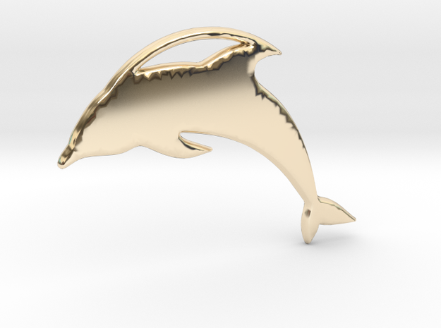 The Dolphin Necklace