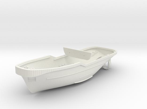 Harbor Tug Hull 1:144 V40 in White Strong & Flexible