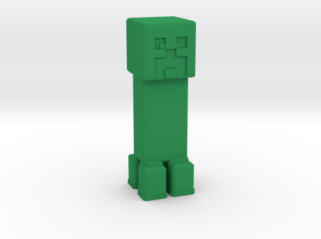 Minecraft Creeper in Green Strong & Flexible Polished: Extra Small