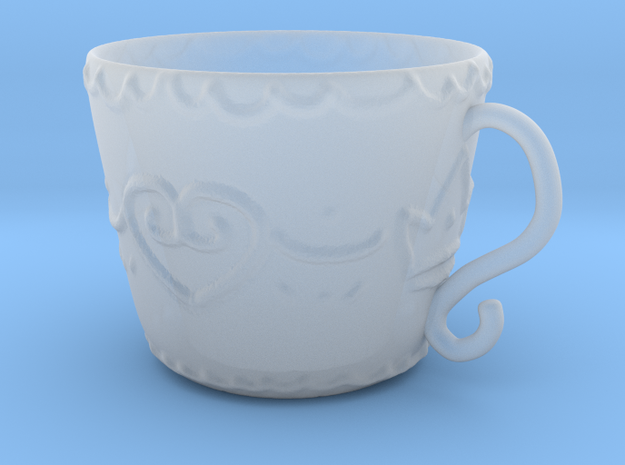 Princess Cup 1 in Frosted Ultra Detail