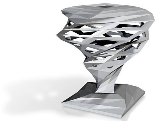 twister sculpture 3d printed