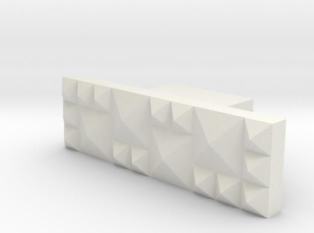 LUX4 in White Natural Versatile Plastic
