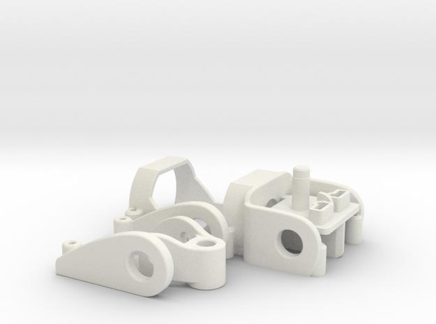 PDU050hybrid in White Natural Versatile Plastic