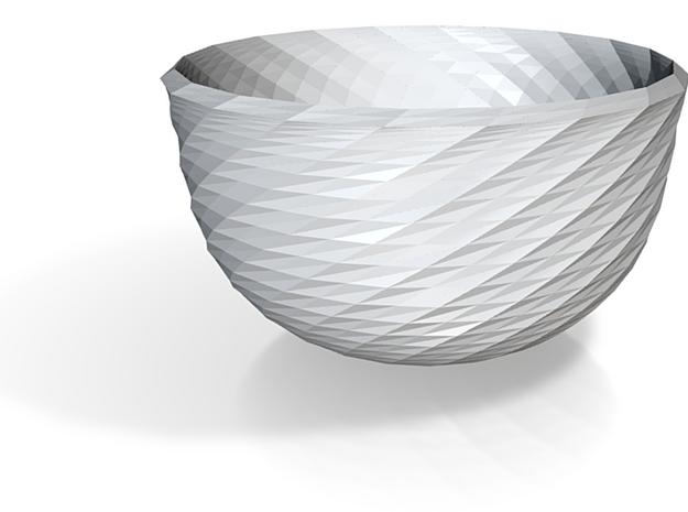 red cap bowl style 3 3d printed