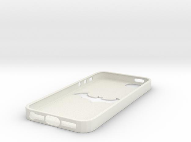 IPhone 5S Batman Case in White Natural Versatile Plastic