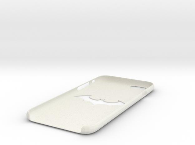 iPhone 6S Batman Case in White Natural Versatile Plastic