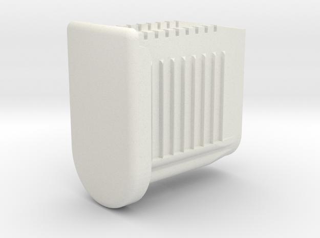 Ikea JULES Chair Foot  in White Natural Versatile Plastic