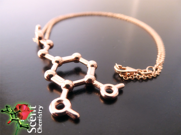 Dopamine in 14k Rose Gold Plated