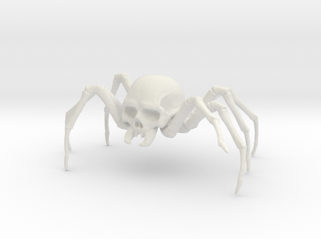 Skulltula 2 in White Natural Versatile Plastic