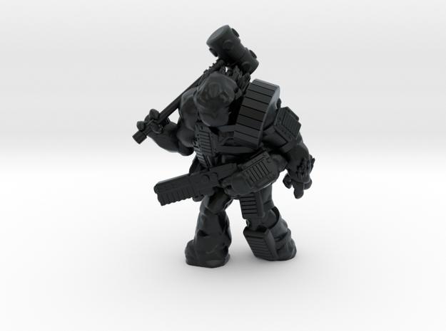 Scilinoid Warrior (28mm/Heroic scale) in Black Hi-Def Acrylate