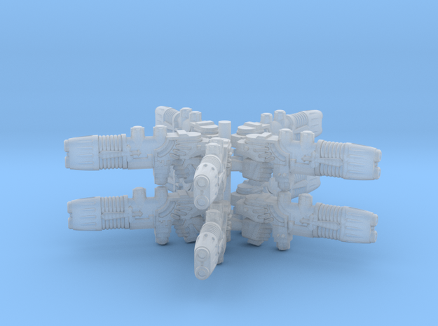 Plasma Repeating Shotgun Sprue X10 in Smooth Fine Detail Plastic