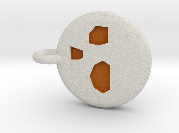 Runescape: Dust Rune Keychain in Full Color Sandstone