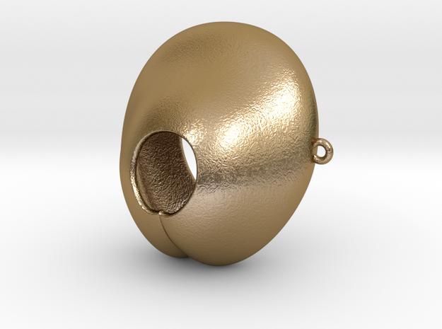 Electrosex Penis tip, E-Stim V4 Extra Large in Polished Gold Steel